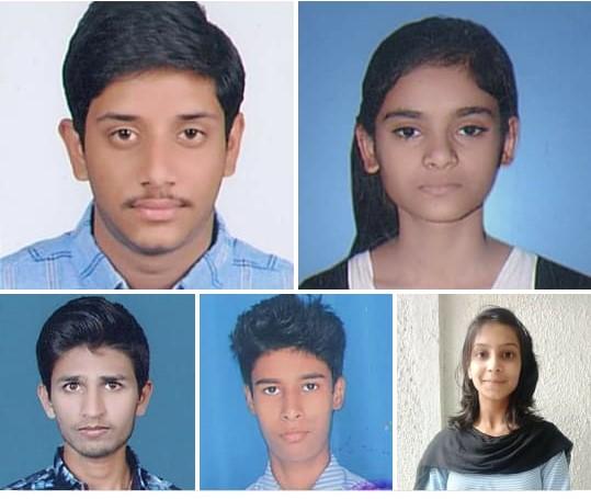 College Toppers 2019 (Nikhil Sahu secured First position with 81 % in Rani Durgavati University Jabalpur)